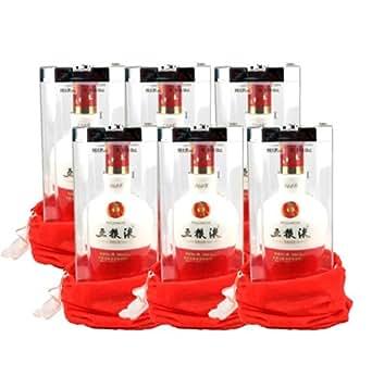 五粮液 1618 52度500ml*6(原厂包装未拆封,送3只礼品袋)整箱装(单瓶ASIN:B00472MHS0)