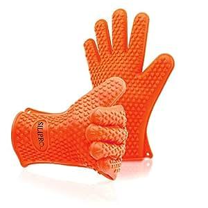 SiliPro Silicone bbq Gloves