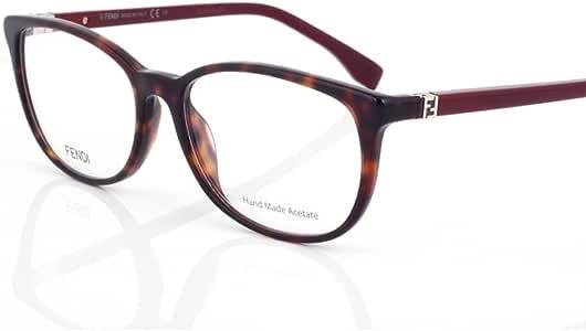 Fendi 芬迪 意大利 眼镜 FENDI眼镜 近视镜框 镜架男女同款FF0010 7SK