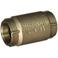 Wayne 15537-WYN1 线式止动阀,1-1/4 英寸,青铜色