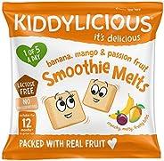 Kiddylicious 力可滋 Mango,Banana和Passion Fruit溶豆6g (16包)