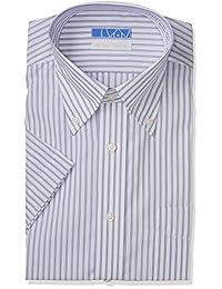 [礼服码101] 免烫 高形态稳定衬衫 半袖 形状*衬衫 EHTO01 男士