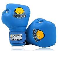 cheerwing 113.4gram PU 儿童拳击手套儿童卡通 MMA 拳击 dajn 训练手套年龄5–10岁