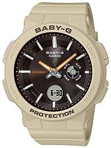 CASIO 女式模拟数字石英手表树脂表带 BGA-255-5AER