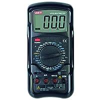 UNI-T 数字万用表电阻测量仪 黑色 UT52
