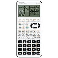 Sharp Electronics EL9950 二級圖形計算器 白色/黑色