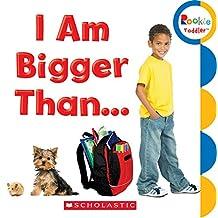 (进口原版) 学乐 幼儿ABC I Am Bigger Than