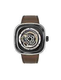[SEVENFRIDAY]SEVENFRIDAY 腕表 P-series 带砂光的手表 P2B/01 男士 【平行进口商品】