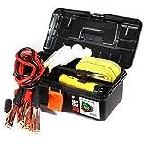 IRIS 爱丽思 汽车应急救援工具箱 四件套套装(电瓶搭线、应急手电、应急手套、拖车绳 )(供应商直送)