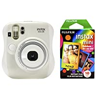 Fujifilm 拍立得 Mini 26 +彩虹相纸套装 - 白色