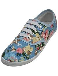 shoes8teen SHOES 18女式帆布鞋系带运动鞋18种颜色可选