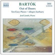 进口CD:巴托克:在户外 十首轻松小曲 快板巴巴洛 Bartok:Out of Doors Ten Easy Pieces Allegro Barbaro(CD)8.555329