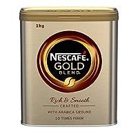 NESCAF? 雀巢 GOLD 速溶黑咖啡,1公斤