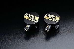 【国内正规产品】 搭载2DD内耳式耳机 黑色 masya 黑色