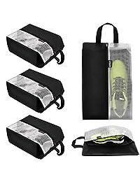 lermende 旅行鞋袋防水多功能尼龙收纳存储手提包袋5件
