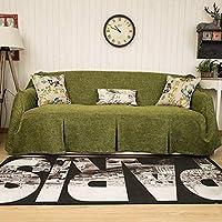 """KARUILU 家用沙发套1件厚织物沙发家具保护套带别针 深* 83""""*102"""""""