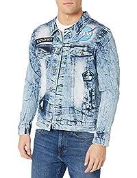 WT02 男式 NASA 系列牛仔夹克