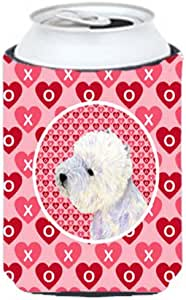 Westie Hearts Love and Valentine's Day Portrait Michelob Ultra Koozies for slim cans LH9135MUK 多色 Can Hugger