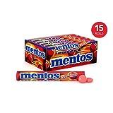 Mentos 曼妥思 薄荷咀嚼条糖, 肉桂, 派对, 万圣节, 1.32盎司(37.5g)/14颗 (15条装)
