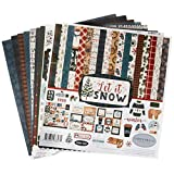 Carta Bella Paper Let It Snow Collection Kit 纸 红色/蓝色/*蓝/*/白色