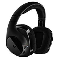 Logitech 罗技 G533 Wireless DTS 7.1 环绕声游戏耳机麦克风 电竞耳机 降噪游戏耳机