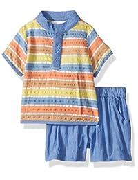 Masala 男婴 Ollie 2 件套大胆条纹多色