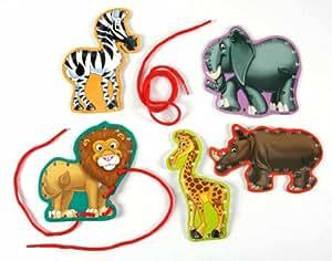 Eureka 蕾丝学习贴纸 Safari 动物