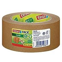 tesa 德莎 德国进口 包装环保纸带 胶带 环保材料 尺寸为50m*50mm 棕色
