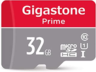 Gigastone GS-2IN1600x16GB-R 16GB Micro SD Card U1 Memory & Adapter 32GB
