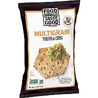 Food Should Taste Good 脆玉米片, 雜糧, 無麩質脆片, 5.5盎司(155g)(12件裝)