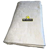 Elephant Brand 优质陶瓷纤维垫消声器包装:1.27 cm x 38.1 cm x 60.96 cm
