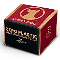 Lucky Dog Zero 塑料便袋,32 卷装,384 袋