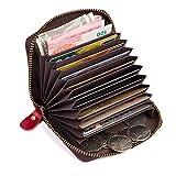 Geremen 纯手工缝制 风琴系列头层牛皮卡包 零钱包 小包 杂物包 公交卡包 8117