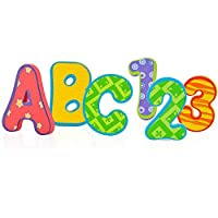 Nuby 泡沫浴字母和数字,36 片
