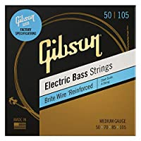 Gibson Brite 电线电贝司弦,短比例 中