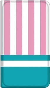 智能手机壳 手册式 对应全部机型 薄型印刷手册 cw-291top 套 手册 条纹 超薄 轻量 UV印刷 壳wn-0253486-wy Xperia arc SO-01C B款