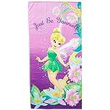 Disney Tinkerbell Pretty Girl Cotton Towel