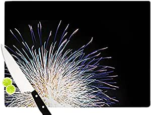 "Kess InHouse Jillian Audrey""Firework"" 砧板 多色 多种颜色 11.5 by 8.25-Inch JA1004ACB01"