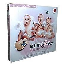 莫扎特EQ儿童益智音乐(4CD)