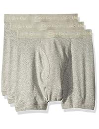 Calvin Klein 男士經典棉質平角內褲3件裝