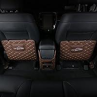GREAT LIFE 车内座椅防踢垫 后排皮革防护垫 绗秀款 棕色(供应商直送)
