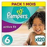 Pampers 帮宝适 Active Fit纸尿裤,6号(15+kg),120片,每月用量