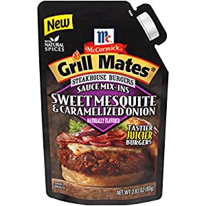 McCormick Grill Mates Sweet Mesquite & Caramelized Onions, 2.83 oz (Pack of 6)