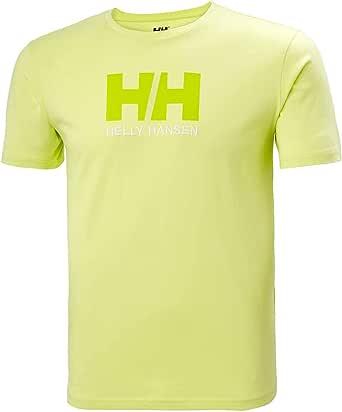 Helly Hansen 男士标志 T 恤-34014 T 恤,黄色,L