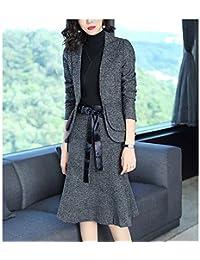 都雅 春装新款百搭时尚职业套装裙两件套修身鱼尾半身裙气质西装外套 小西服SD2A02AJNRFY8691