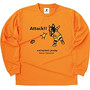 volleyball junky(排球连裤袜) NO2 长 TEE VJ16501 橙色 M