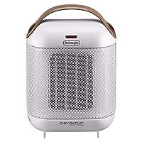 De'Longhi 德龙 HFX30C18.IW 家用陶瓷暖风机取暖器 象牙白色 (海外自营)(国内官方联保两年)(包邮包税)