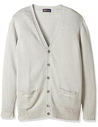 [KUBOP ] 全年穿着方便的棉* V领针织开衫(学校·制服) TB-547 女式