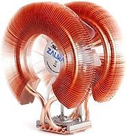 Zalman 计算机防噪系统,带静音风扇纯铜散热器 CPU 冷却器CNPS9900A LED CNPS9900A LED