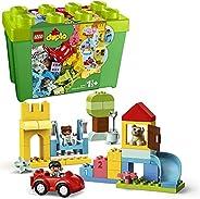 LEGO 10914 DUPLO 经典豪华积木套装,带存储,First Bricks 学习玩具 适合 1.5 岁幼儿